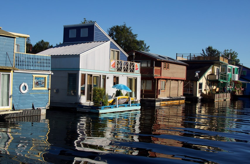 Floating Home / Floating House - Neuer Wohn-Trend
